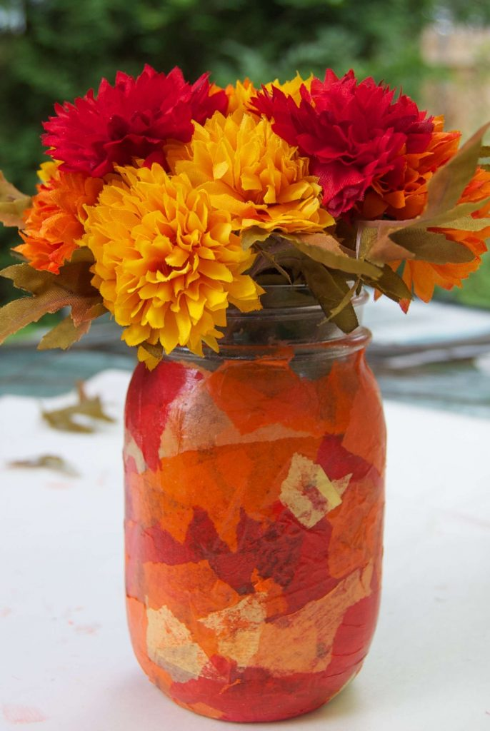Craft Flower Mason Jars Sara Laughed