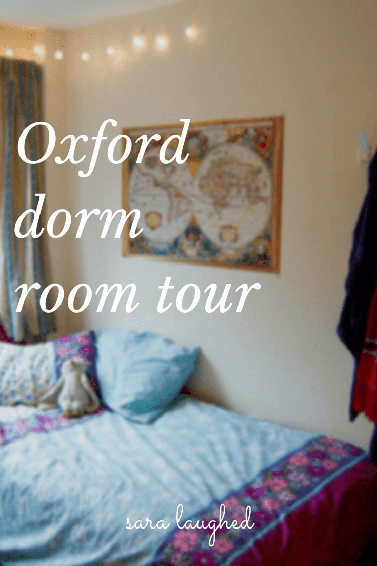 Oxford Dorm Room Tour - Sara Laughed