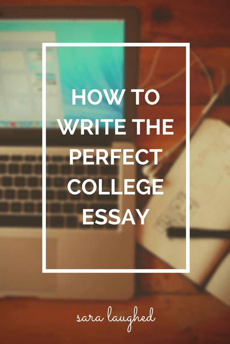 Writing the Perfect Admissions Essay - Fastweb