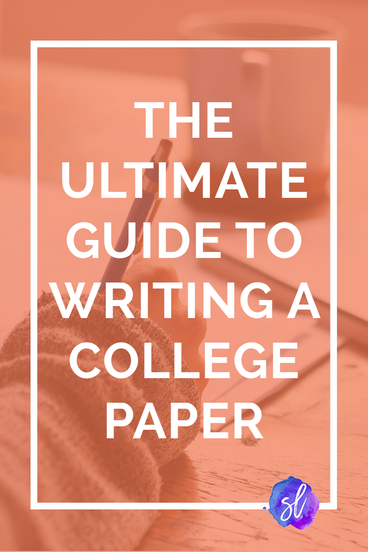 The Updated And Expanded Ultimate Guide To Writing A College Paper! From  Choosing Your Question