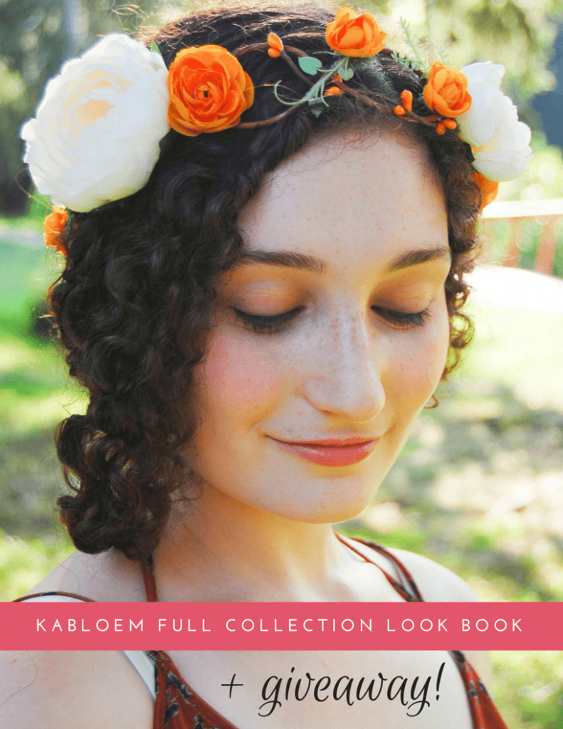 Kabloem Look Book and Giveaway - Sara Laughed