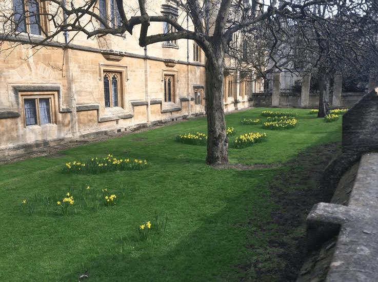 Oxford Diaries 10 - Sara Laughed