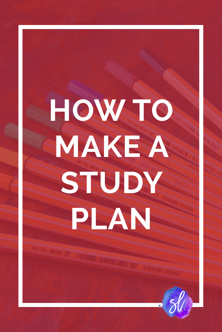 Image result for how to make a study plan