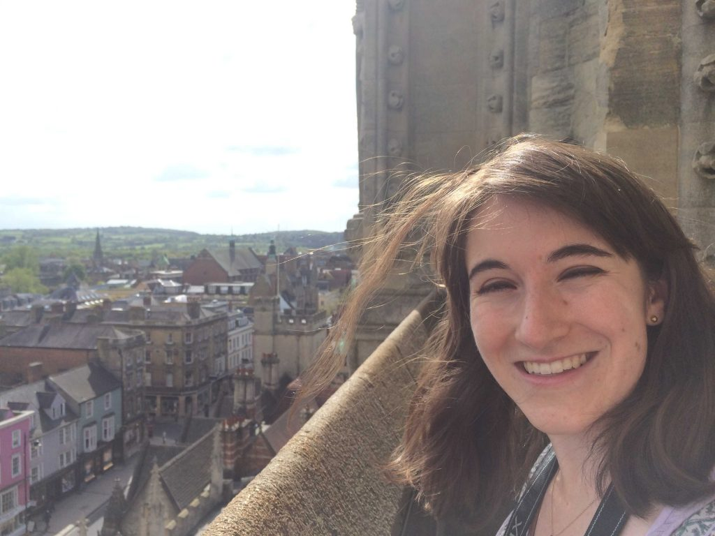 Oxford Diaries 12 - Sara Laughed