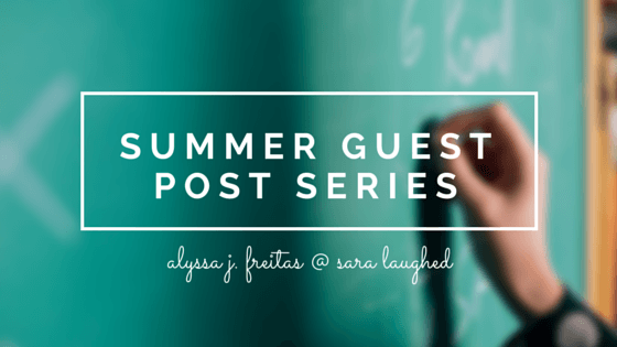 When You Need Academic Help - a guest post by Alyssa J. Freitas