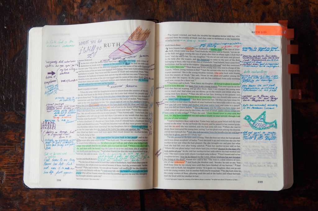 My Favorite Supplies for Bible Journaling- Sara Laughed