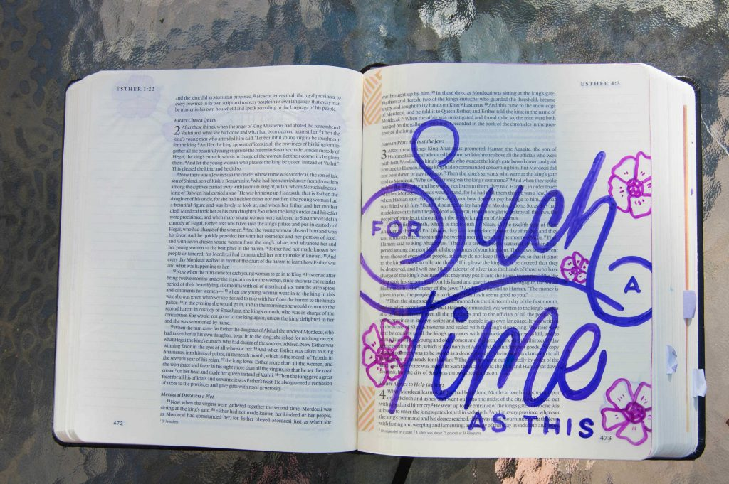 How to Use Transparent Sheets in Your Journaling Bible