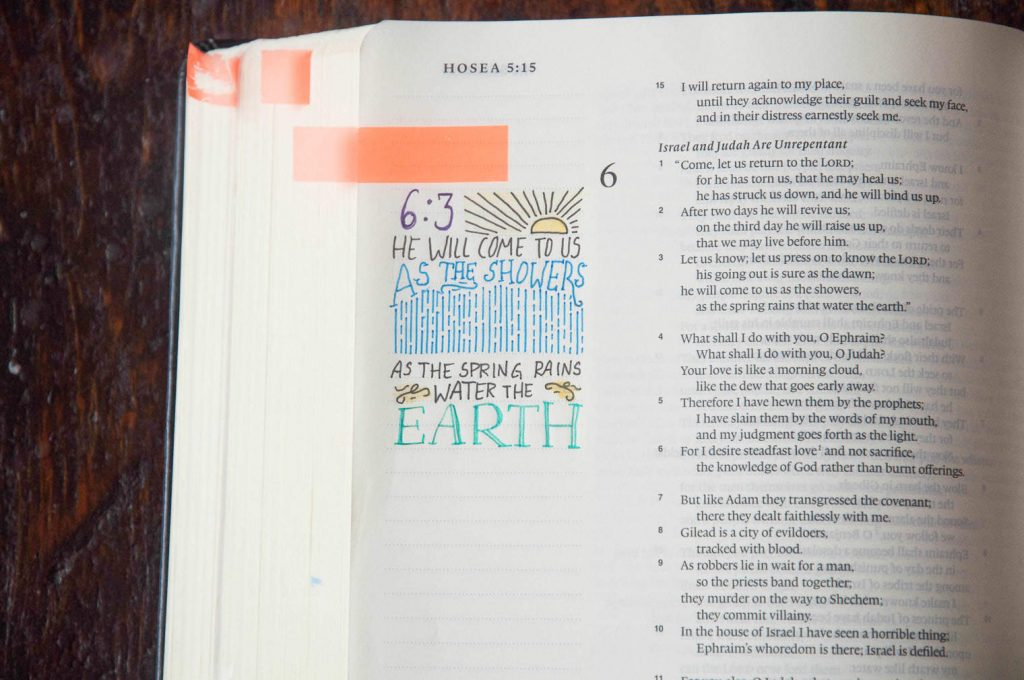 A Bible used for Bible journaling. How to Start Bible Journaling: A Guide for Beginners