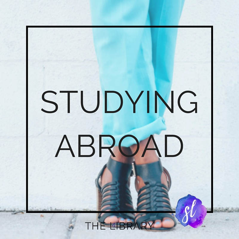 Studying abroad - The L4ibrary by Sara Laughed