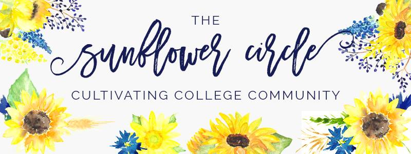 The Sunflower Circle - cultivating college community
