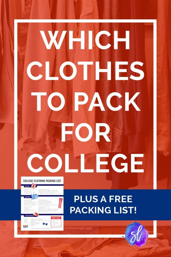 Don't know what to bring to college? Check out this super helpful post, plus a free printable packing list! Save this pin and click through to read!  - Sara Laughed