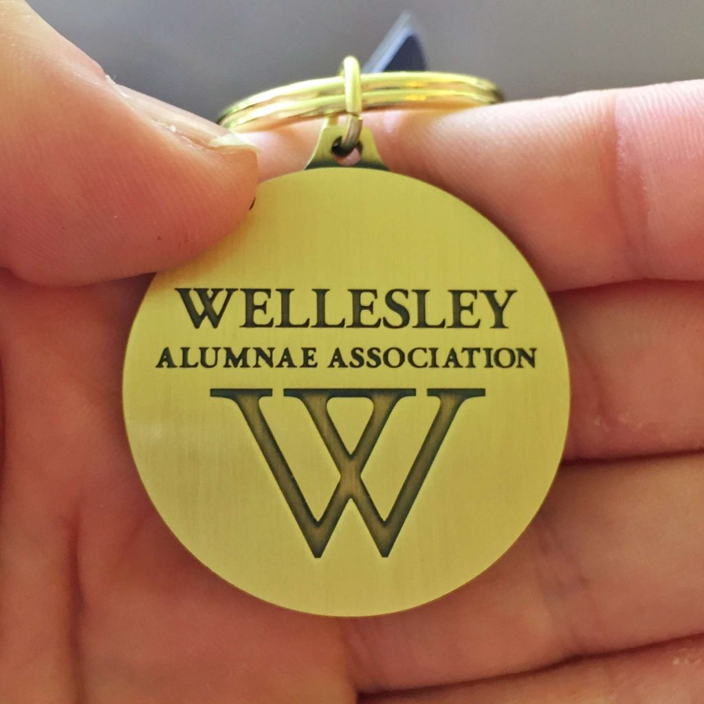 Walking at Wellesley, Four Years Later - Sara Laughed