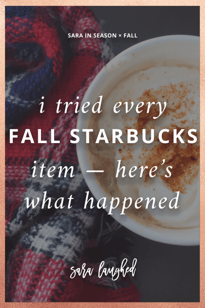 Pin this! I tried everything at Starbucks — here's what happened.