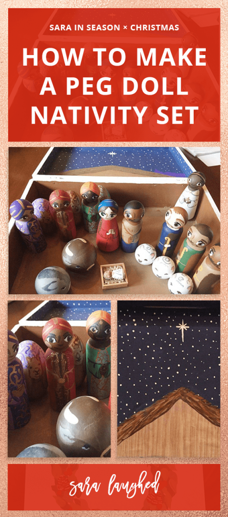Pin this peg doll nativity idea!