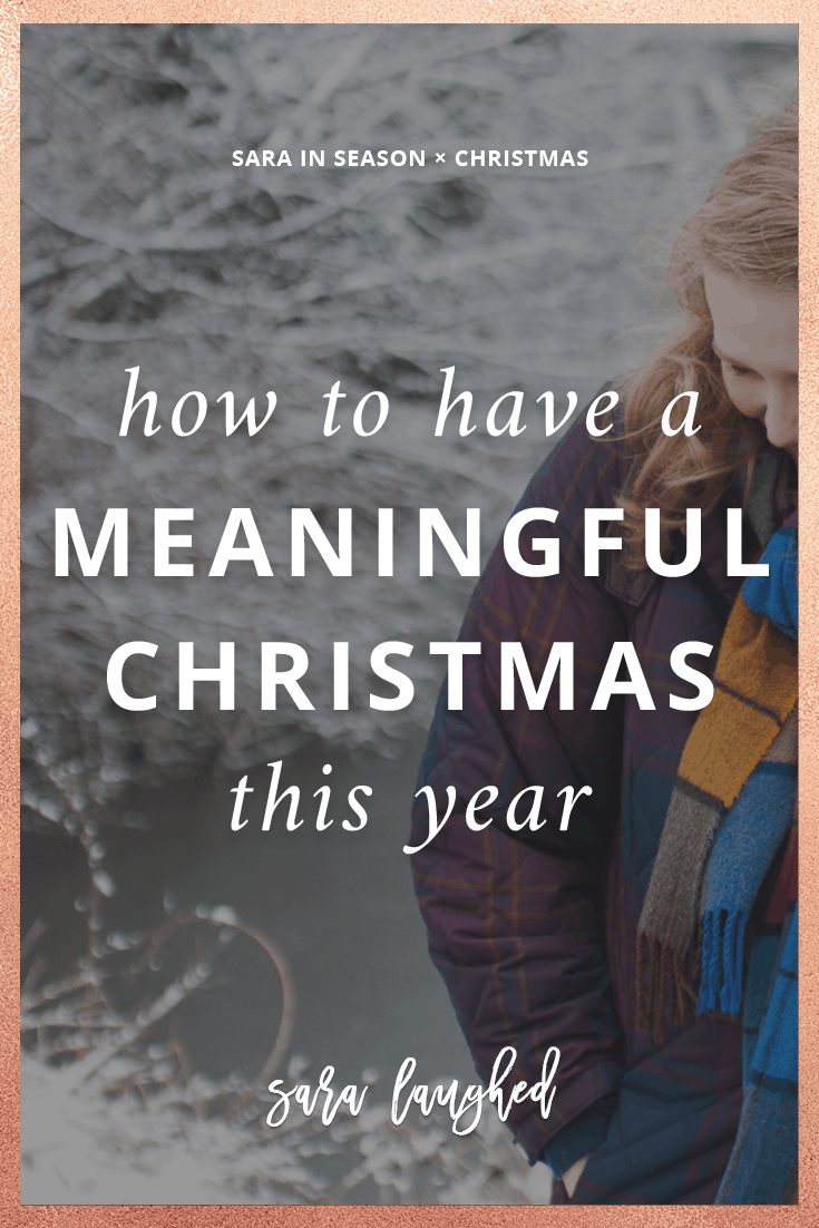 Love these creative ideas for a more meaningful Christmas. My family and I do #6 every year!
