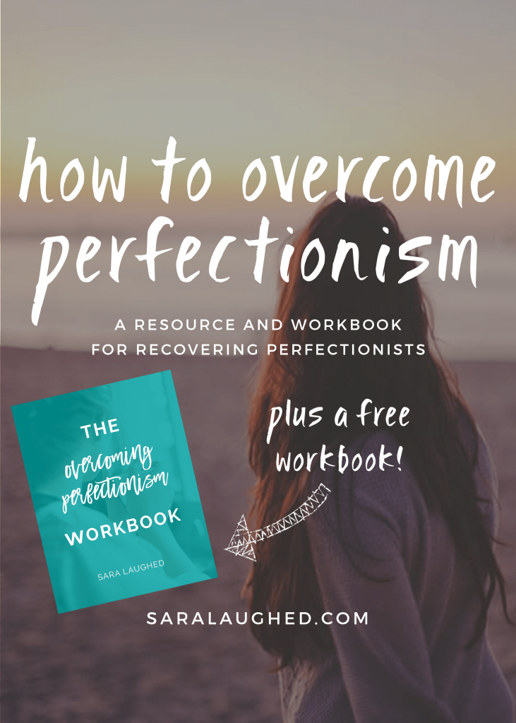 This post is seriously so helpful for perfectionists... I love the free workbook so much!