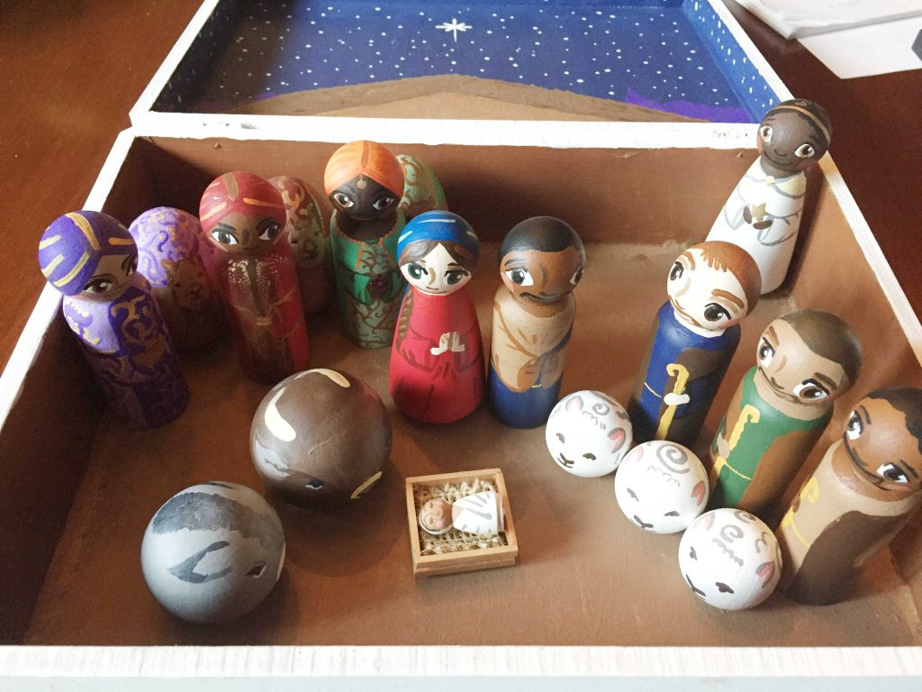 Peg Doll Nativity: A Christmas Craft Tutorial - Sara Laughed