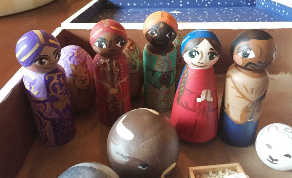 Peg Doll Nativity: A Christmas Craft Tutorial - Sara Laughed