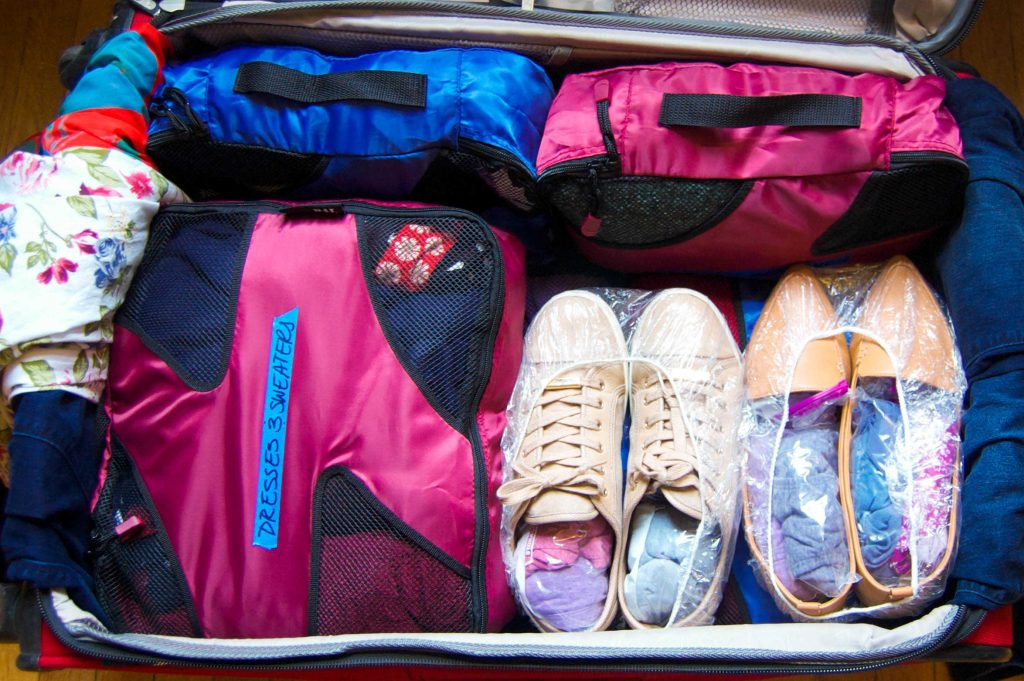How to Perfectly Pack a Suitcase and Carry-On