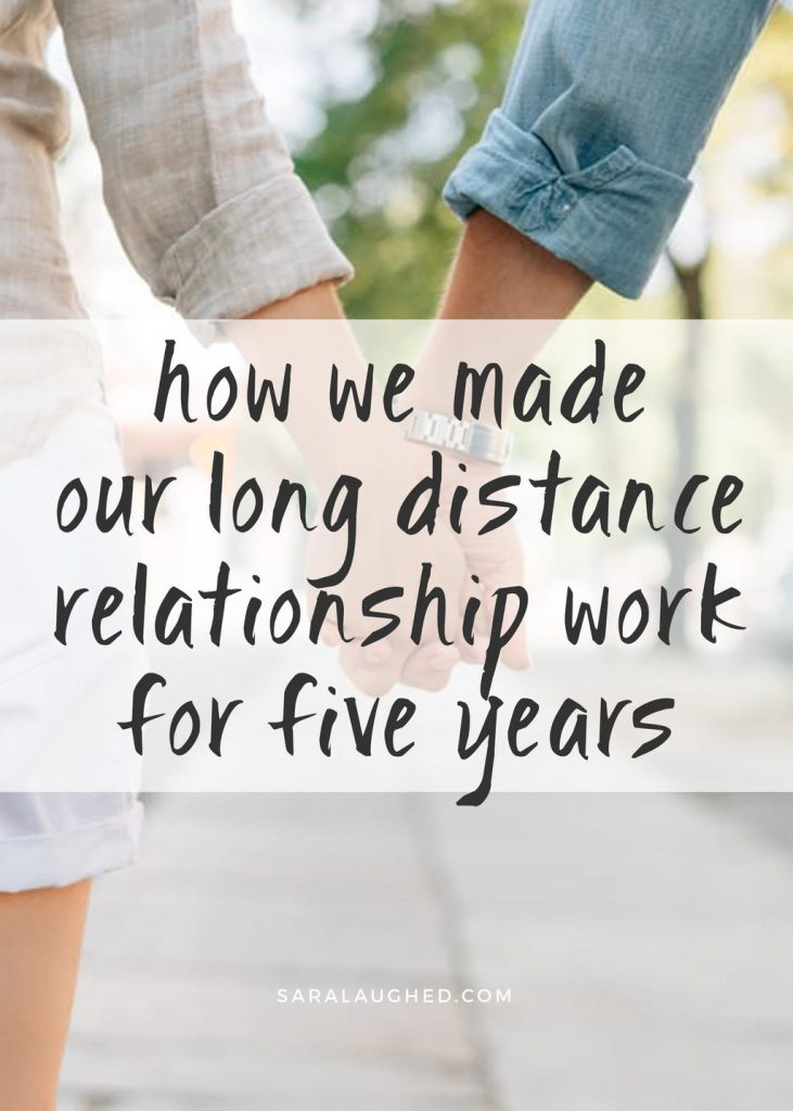 We dated each other on two different continents for five years. Here's how we made our relationship work despite the distance!