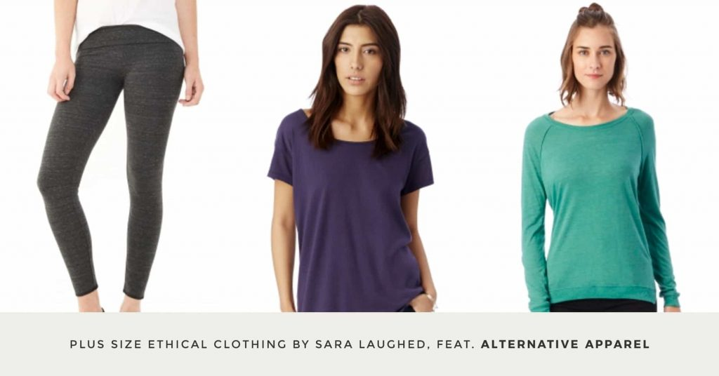 01. ALTERNATIVE APPAREL - Plus Size Ethical Clothing - The Updated Ultimate