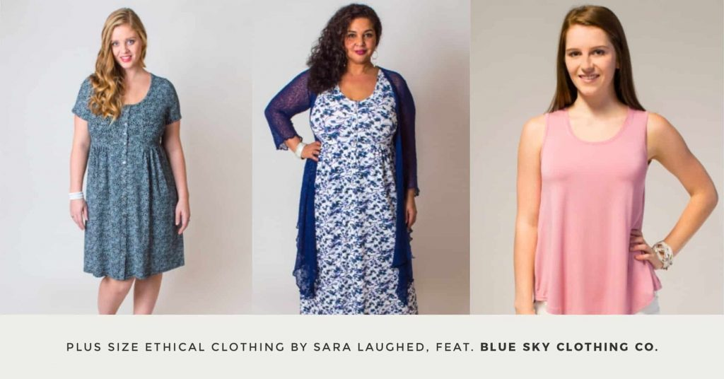 03. BLUE SKY CLOTHING CO - Plus Size Ethical Clothing - The Updated Ultimate