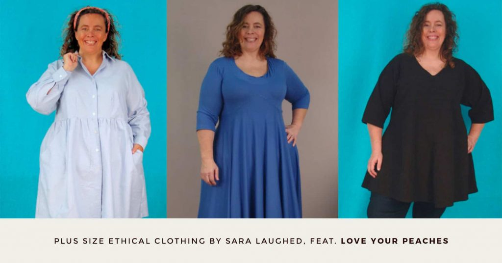 15. LOVE YOUR PEACHES - Plus Size Ethical Clothing