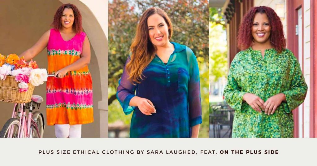 19. ON THE PLUS SIDE- Plus Size Ethical Clothing