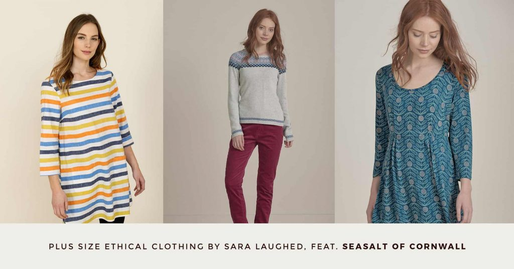 20. SEASALT OF CORNWALL - Plus Size Ethical Clothing