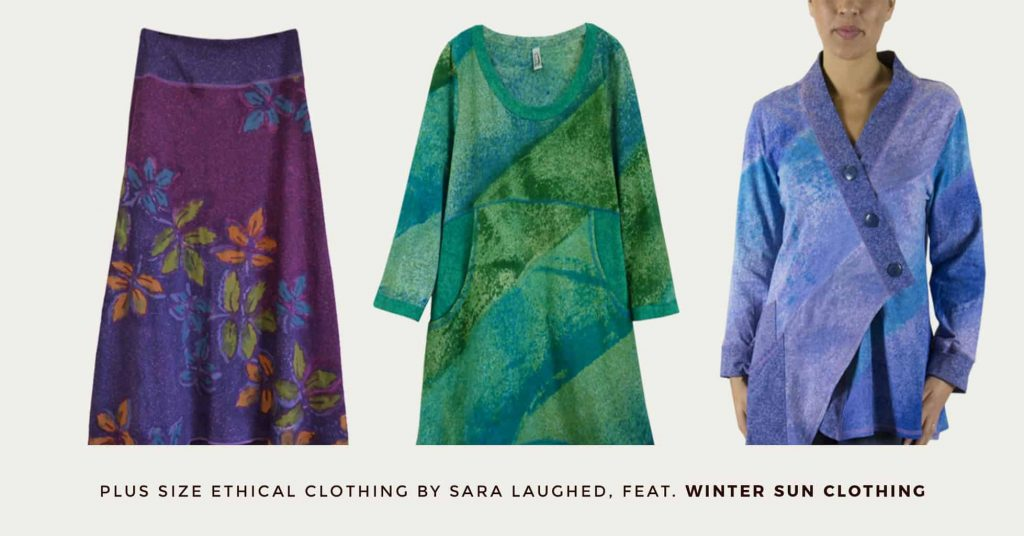 23. WINTER SUN - Fair Trade Plus Size Ethical Clothing