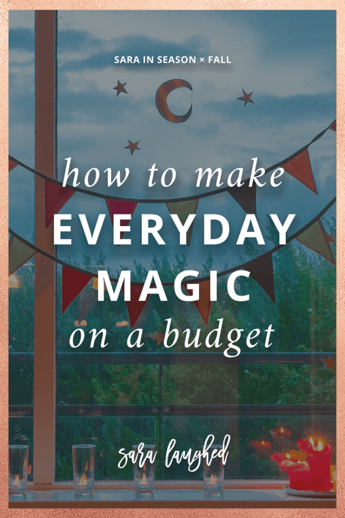Pin this idea on how to make magic on a budget!