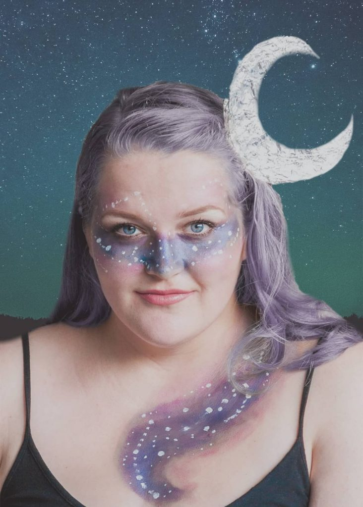 Galaxy Goddess Halloween Costume — Sara Laughed