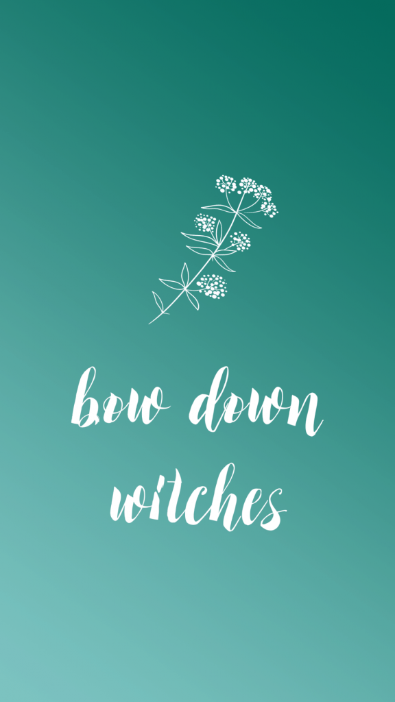 Halloween Phone Wallpaper - Sara Laughed - bowdownwitches