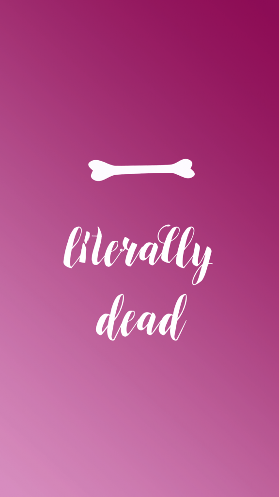 Halloween Phone Wallpaper - Sara Laughed - dead