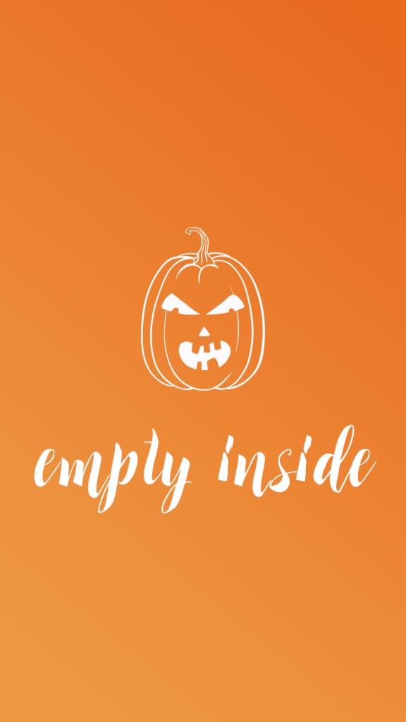 Halloween Phone Wallpaper - Sara Laughed - emptyinside