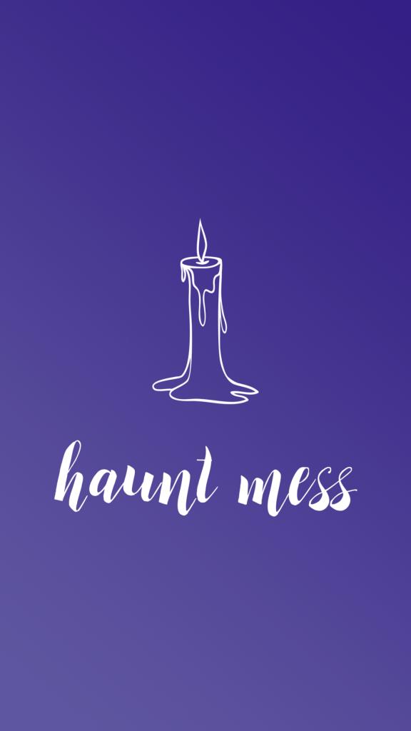 Halloween Phone Wallpaper - Sara Laughed - hauntmess