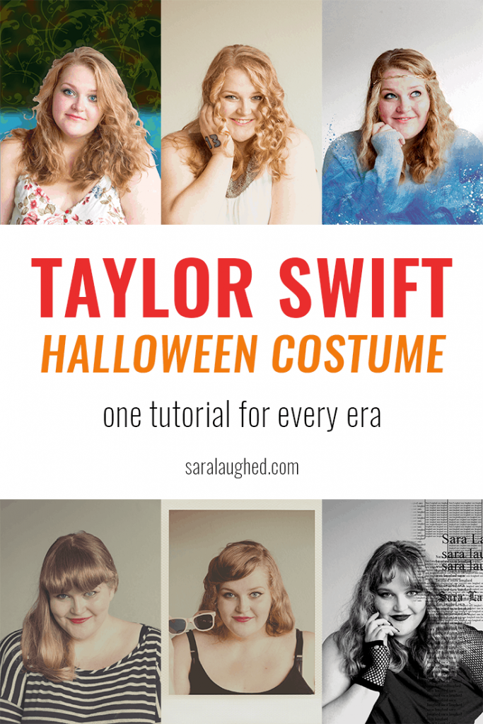Taylor Swift Halloween Costume tutorial! I love the last one!