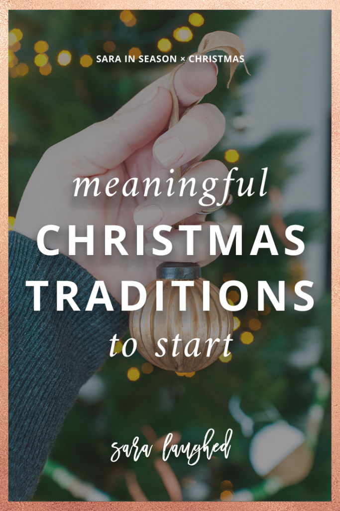 Meaningful Christmas Traditions to Start
