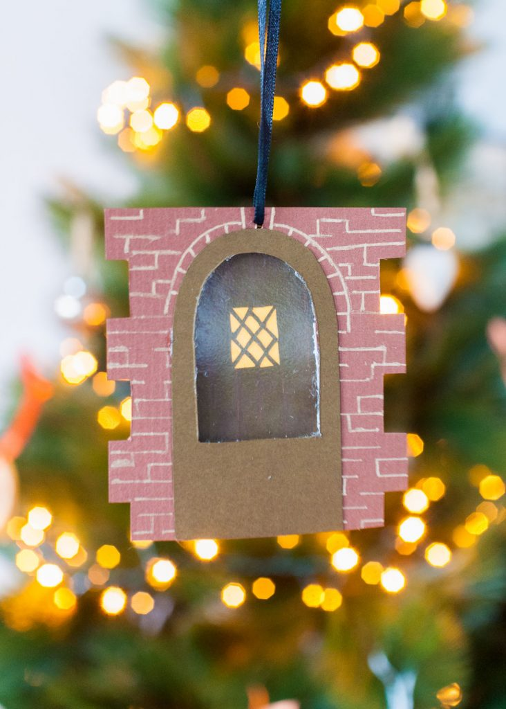 Paper Door Ornaments — Sara Laughed