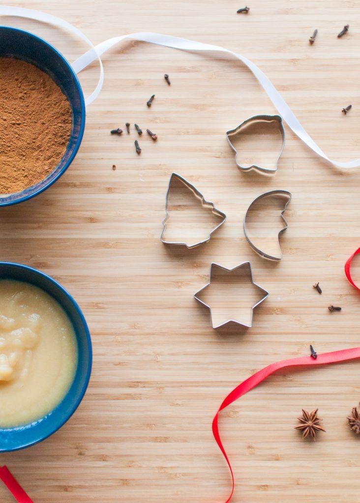How to make cinnamon apple ornaments 1