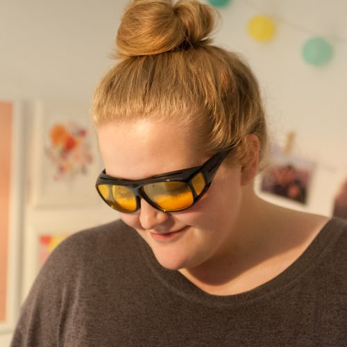 I Tried and Tested Amber Protection Glasses for Better Sleep