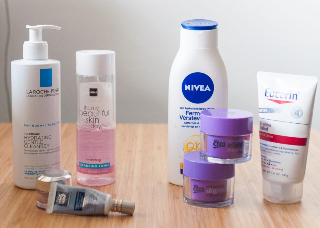 dry sensitive skin care