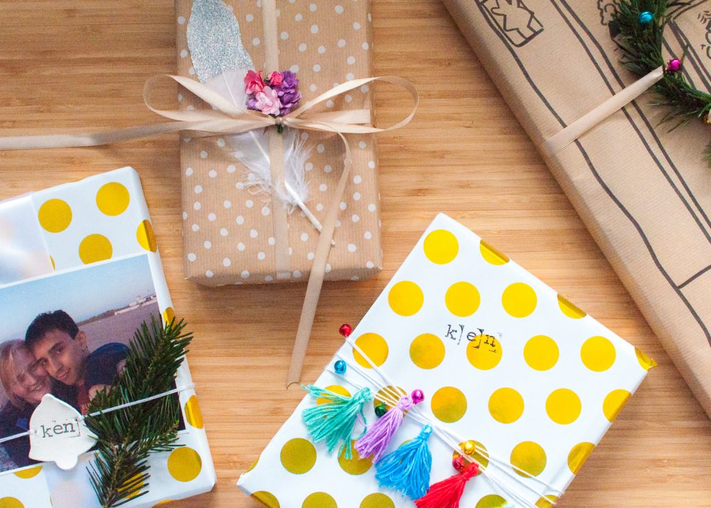 5 Creative Gift Wrap Ideas to Make Your Presentation a Present, Too