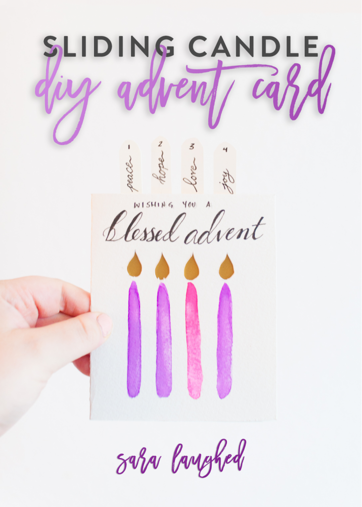 Advent Card DIY