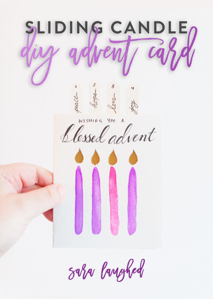 Advent Card DIY