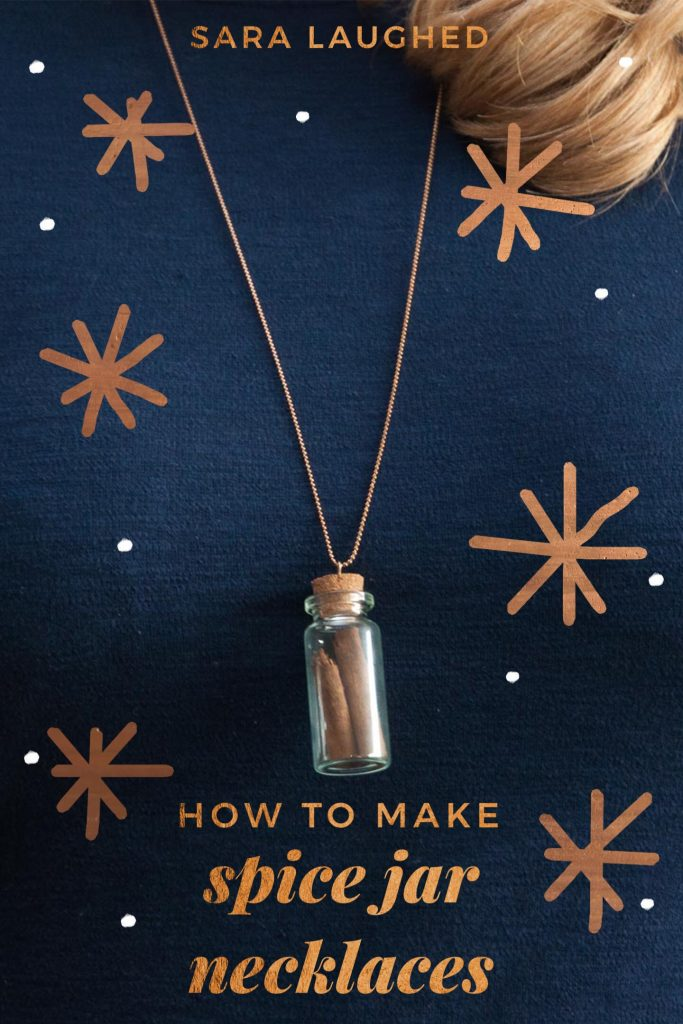 How to Make Apothecary Spice Jar Necklaces for Fall