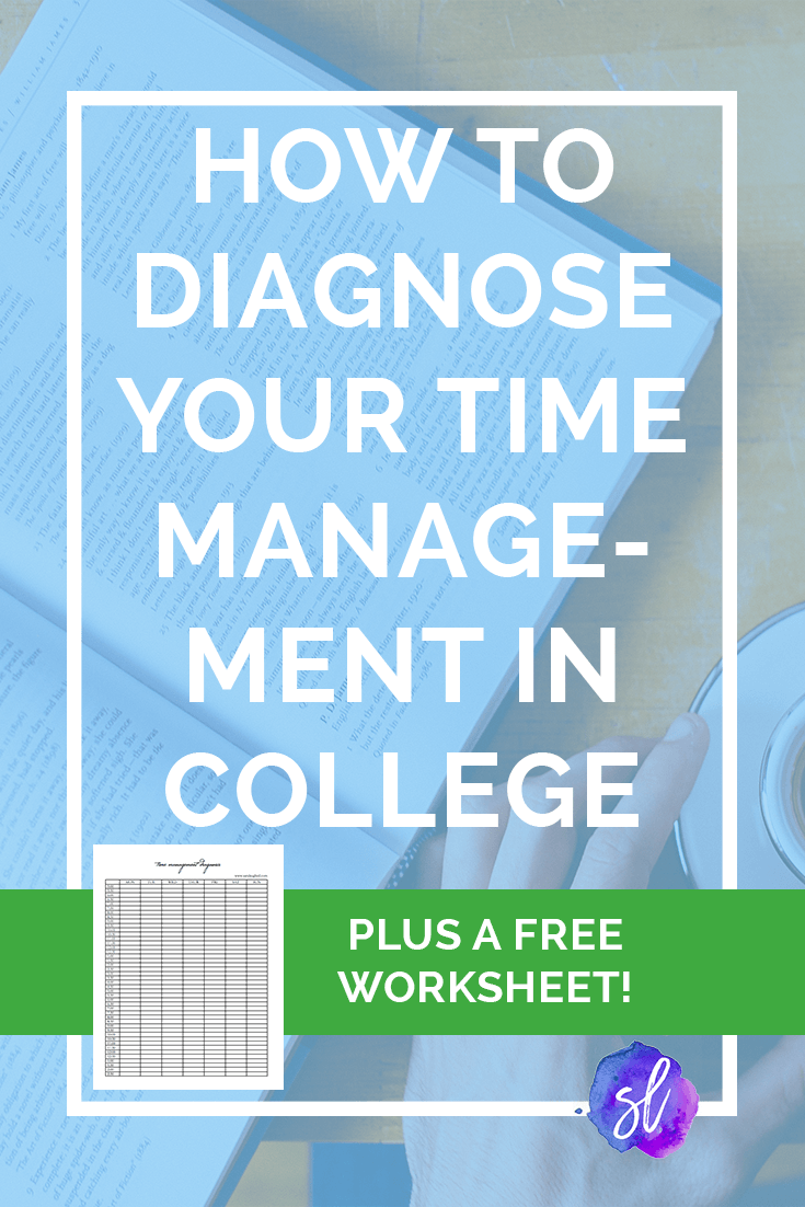 Have trouble managing your time in college? Try out this diagnostic check-up and find out how to improve!
