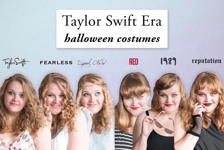 taylor swift halloween costume: 6 eras of taylor swift